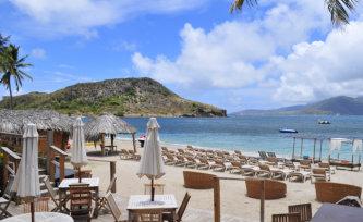 white sand beaches of St. Kitss, Nevis