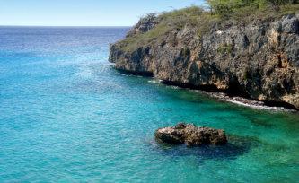 wonderful sea in Curacao