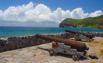 Montserrat beach island