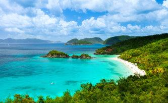 beautiful beach in Virgin Islands