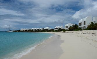 white sand beach in Anguilla