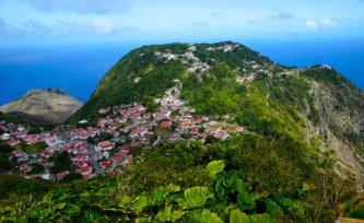 Saba Caribbean green paradise