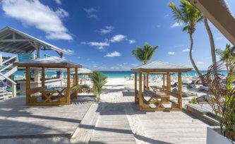 beautiful beaches from Saint Martin